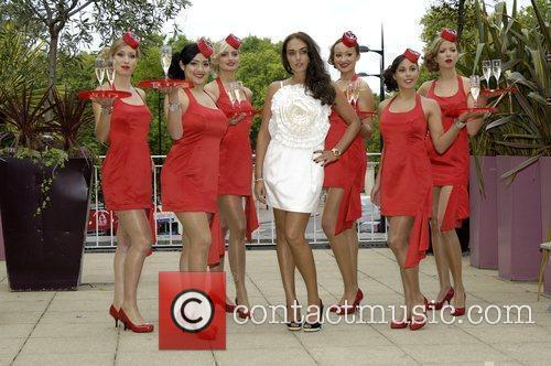 Tamara Ecclestone joins the Red Room Girls to...