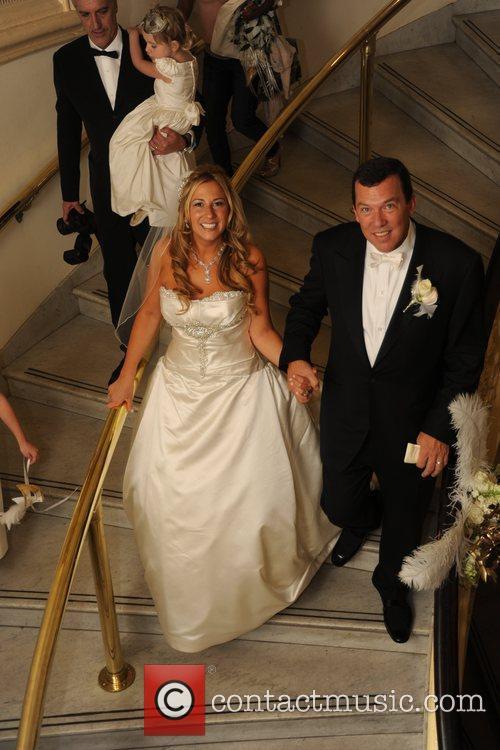 Socialite Sabrina Tamburino and Steven Thorne's wedding day...
