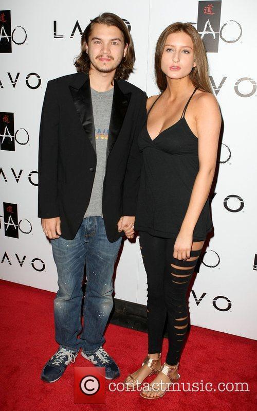 Emile Hirsch and Brianna Domont 2