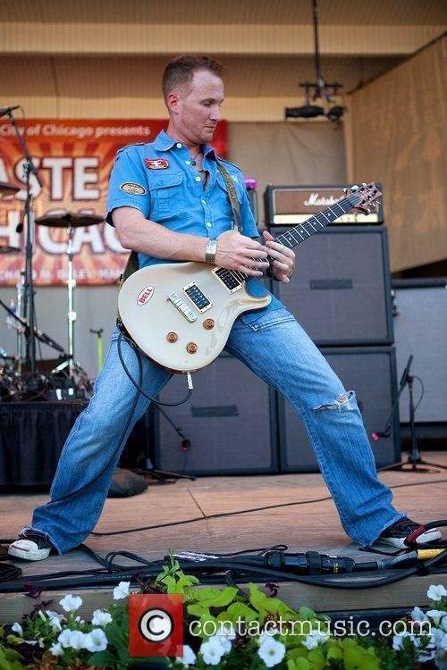 Billy Sawilchik The Lovehammers perform at the 2009...