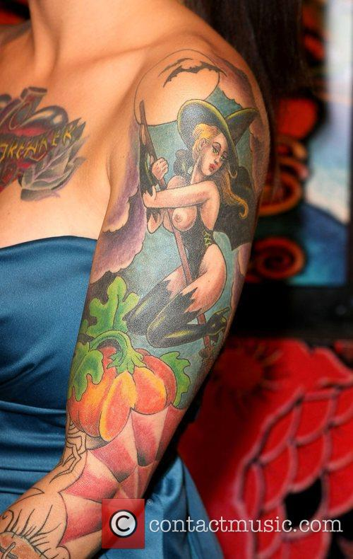 Brandi M Mario Barth Presents 'The Biggest Tattoo...