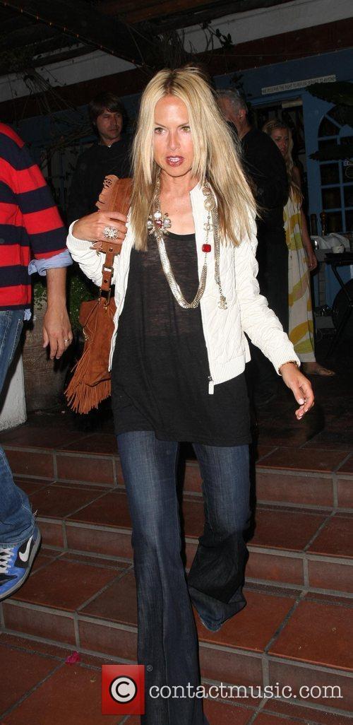 Rachel Zoe leaving Taverna Tony Greek restaurant in...