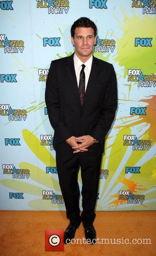 David Boreanaz The 2009 TCA Summer Tour -...