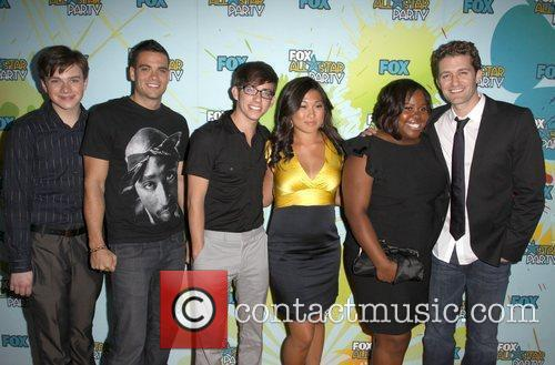 The Cast From Glee 9