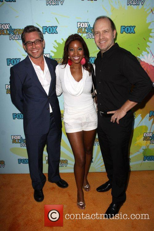The Cleveland Show cast The 2009 TCA Summer...