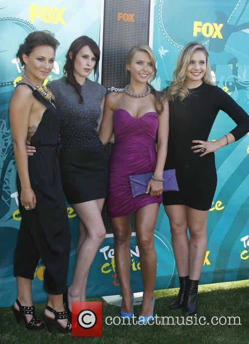 Briana Evigan, Rumer Willis, Audrina Patridge and Leah...