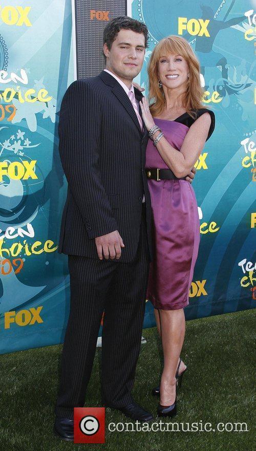 Levi Johnston and Kathy Griffin Teen Choice Awards...