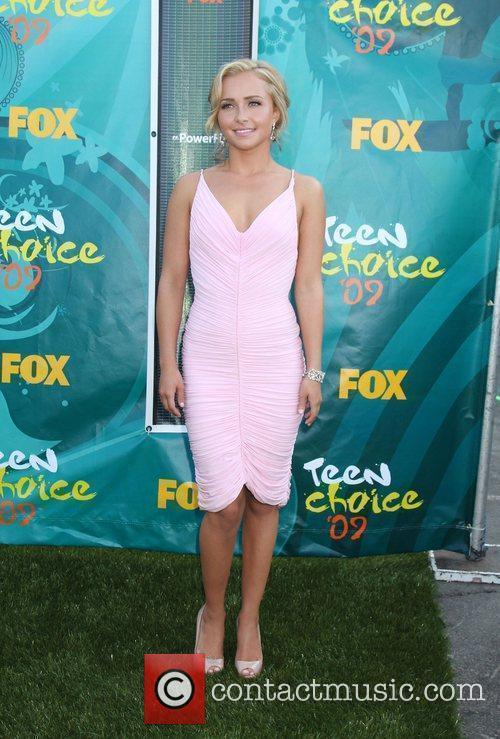 Hayden Panettiere Teen Choice Awards 2009 held at...