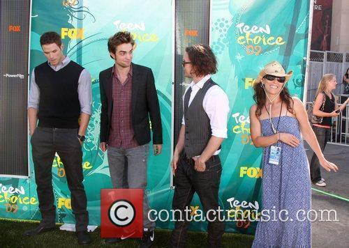 Kellan Lutz, Robert Pattinson, and Jackson Rathbone...