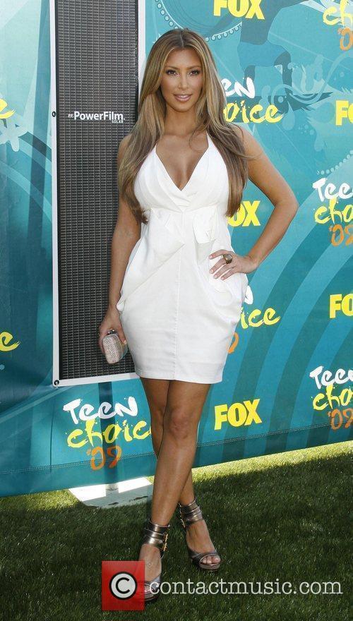 Kim Kardashian Teen Choice Awards 2009 held at...