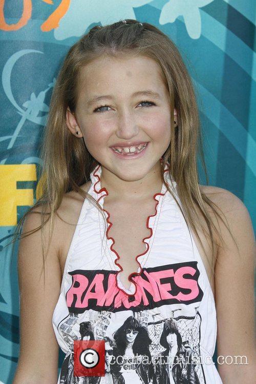 Noah Cyrus Teen Choice Awards 2009 held at...