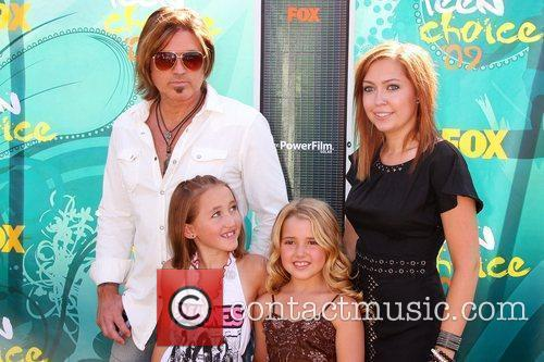 Billy Ray Cyrus, Noah Cyrus, Emily Grace and Brande Cyrus 1