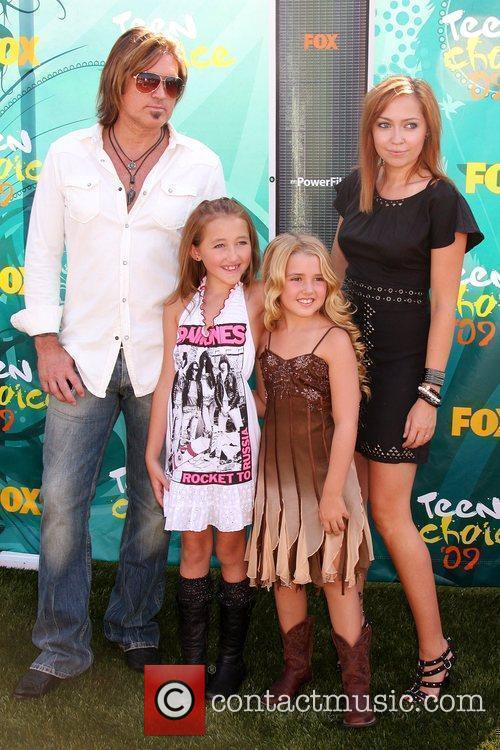 Billy Ray Cyrus, Noah Cyrus, Emily Grace and Brande Cyrus