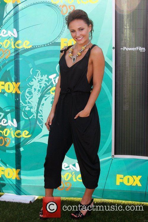 Brianna Evigan Teen Choice Awards 2009 held at...