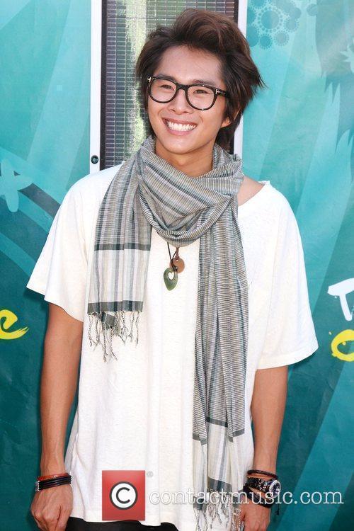 Justin Chon Teen Choice Awards 2009 held at...