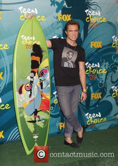 Ed Westwick Teen Choice Awards 2009 held at...