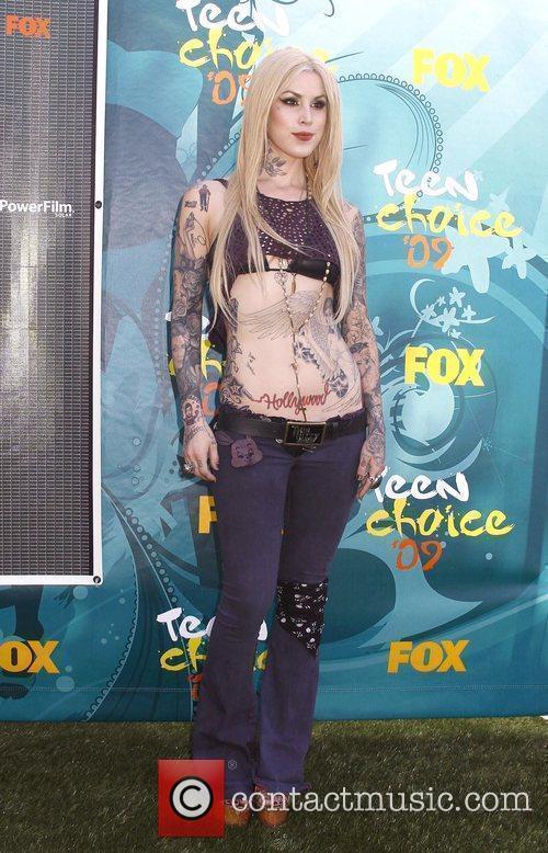 Kat Von D Teen Choice Awards 2009 held...