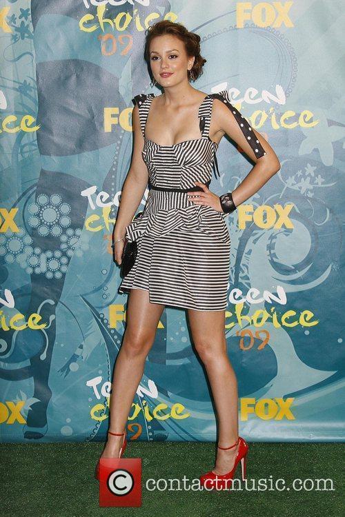 Leighton Meester Teen Choice Awards 2009 held at...