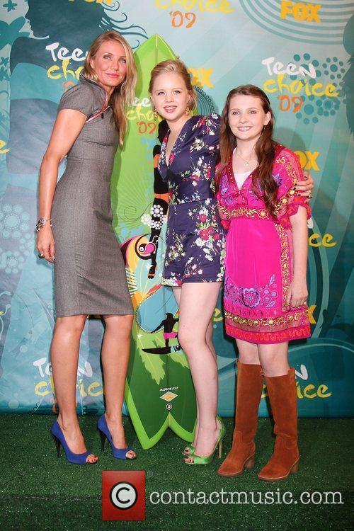 Cameron Diaz, Sofia Vassilieva and Abigail Breslin Teen...