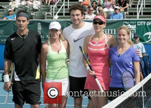 Gavin Rossdale and Chris Evert 7
