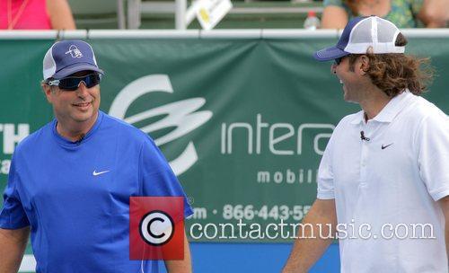 Jon Lovitz, Vince Spadea participate in the Chris...