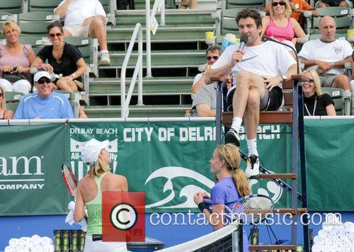 Justin Gimelstob participate in the Chris Evert/Raymond James...