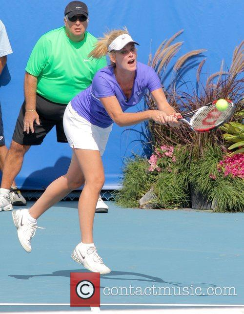 Maeve Quinlan  participate in the Chris Evert/Raymond...