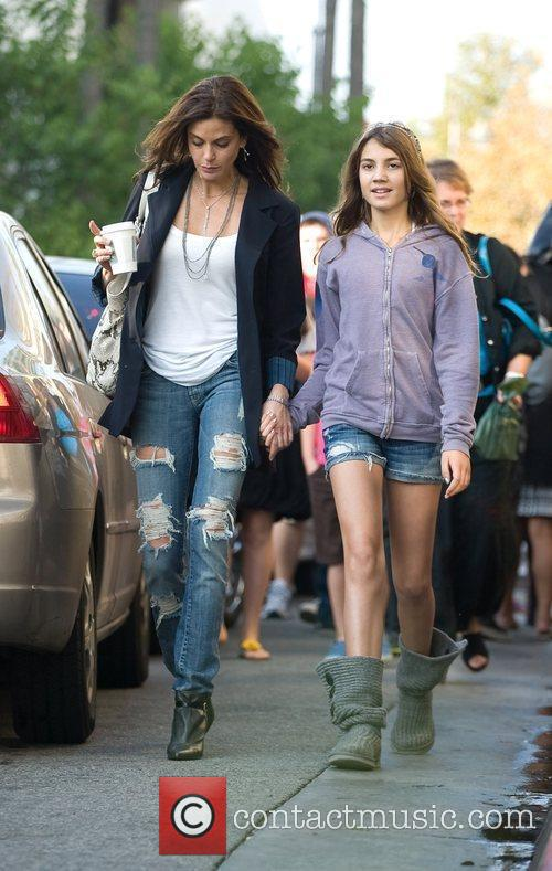 Teri Hatcher and Emerson Rose