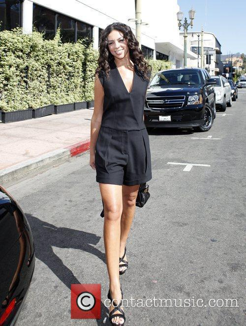 Terri Seymour out and about in Hollywood Los...