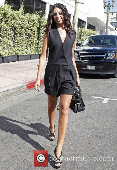 Terri Seymour out and about in Hollywood