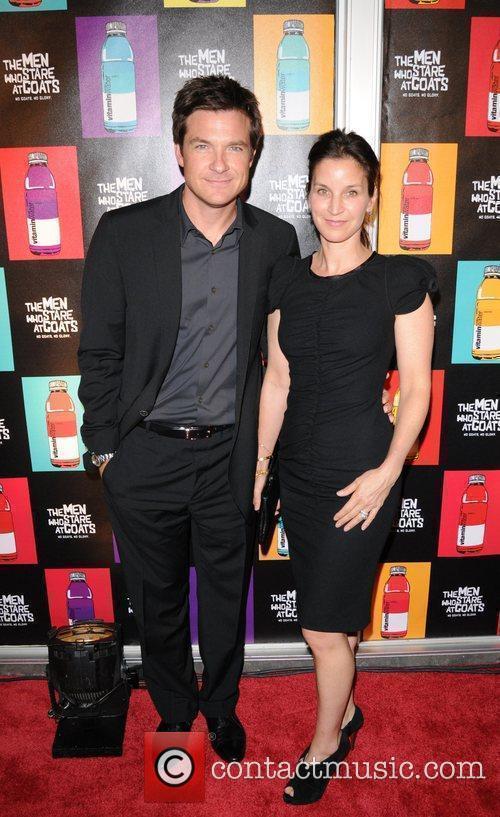 Jason Bateman, Amanda Anka Screening of 'The Men...