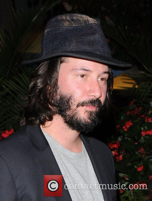 Keanu Reeves leaving a hotel - The Toronto...
