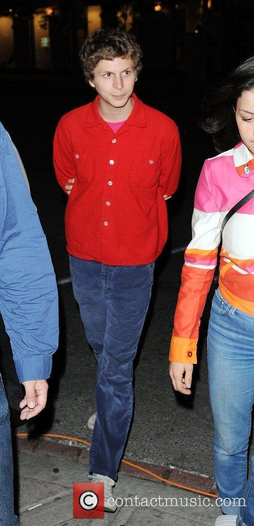 Michael Cera leaving a hotel - The Toronto...
