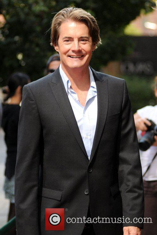 Kyle MacLachlan out and about while attending The...