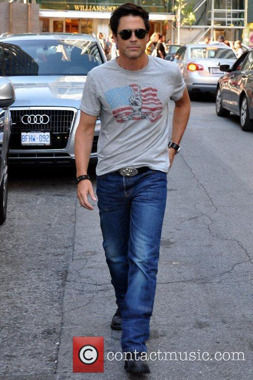 Rob Lowe out and about after attending The...