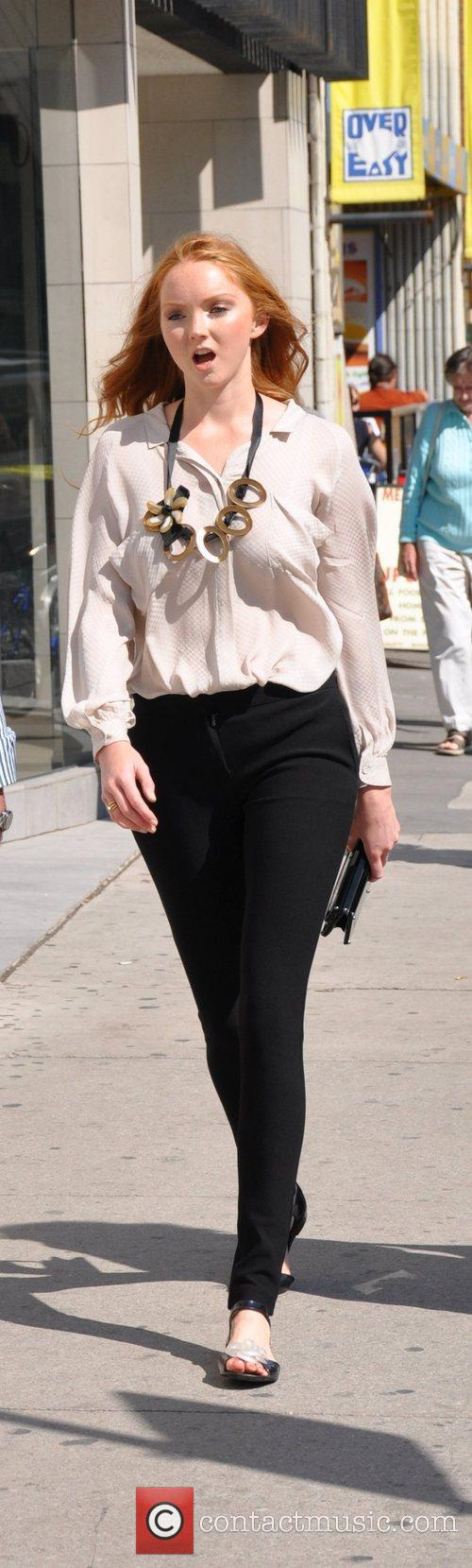 Takes a stroll during the 2009 Toronto Film...