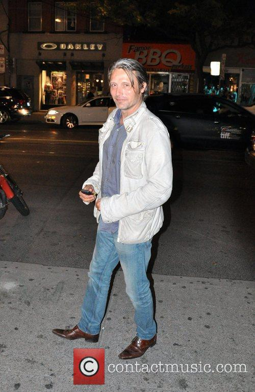 Departs the Ultra Supper Club Restaurant during the...