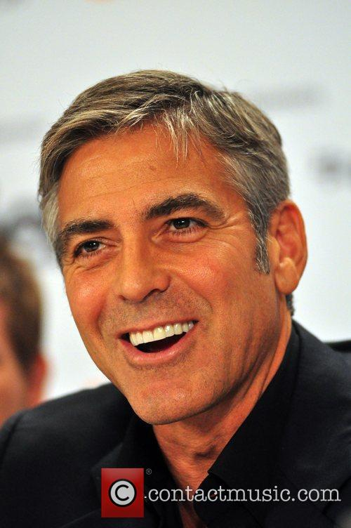 George Clooney Press conference for 'Men Who Stare...