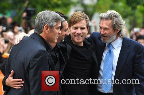Jeff Bridges, Ewan Mcgregor and George Clooney 9