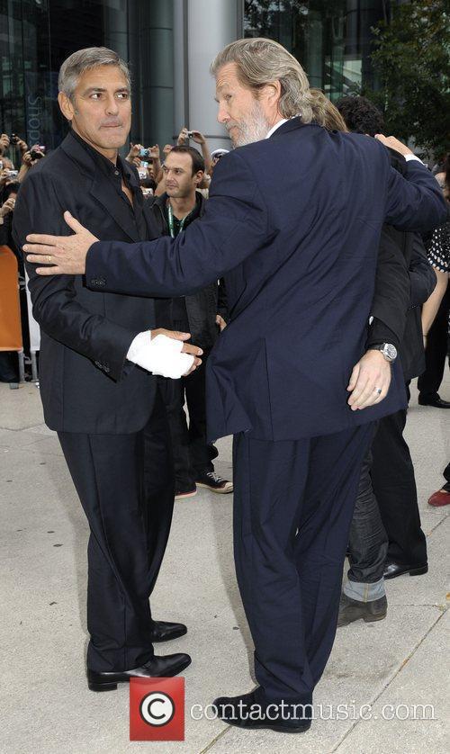 George Clooney and Jeff Bridges 'Men Who Stare...