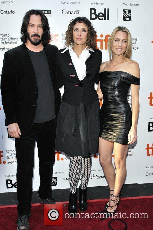 Keanu Reeves, Rebecca Miller and Robin Wright Penn 2