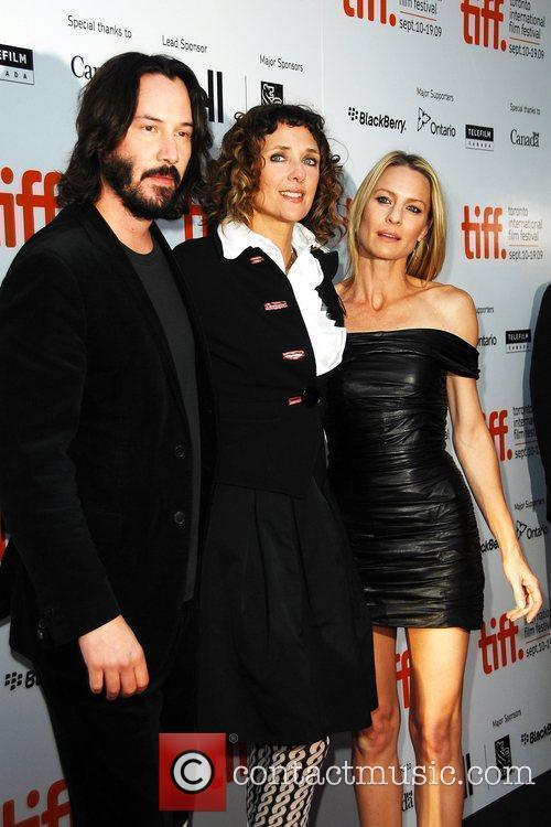 Keanu Reeves, Rebecca Miller and Robin Wright Penn 6