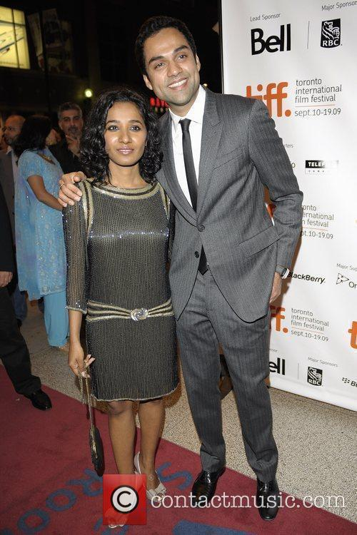 Actress Tannishtha Chatterjee (l) and Abhay Deol...