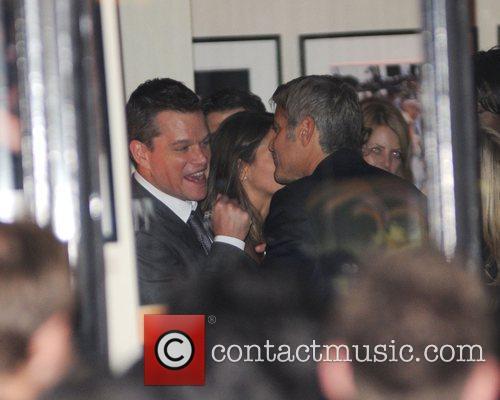George Clooney and Matt Damon 3