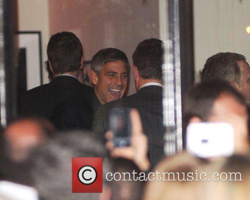George Clooney and Matt Damon 4