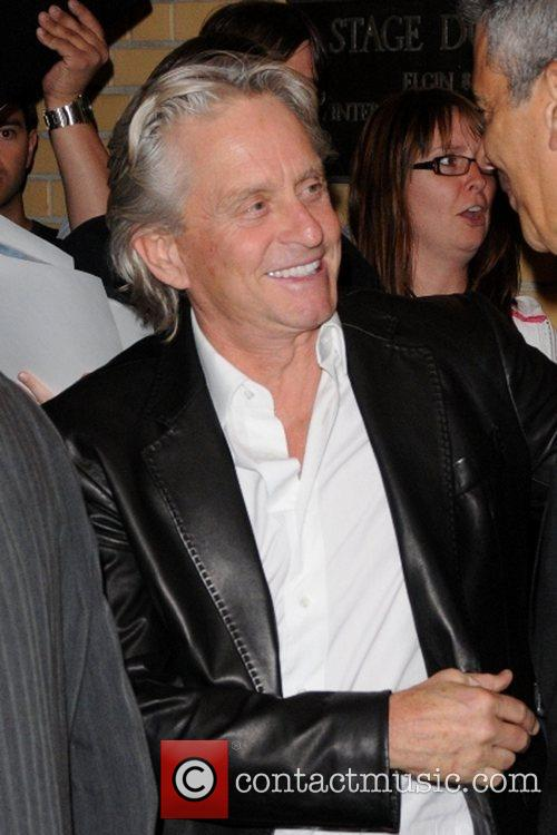 Michael Douglas seen at the 2009 Toronto International...