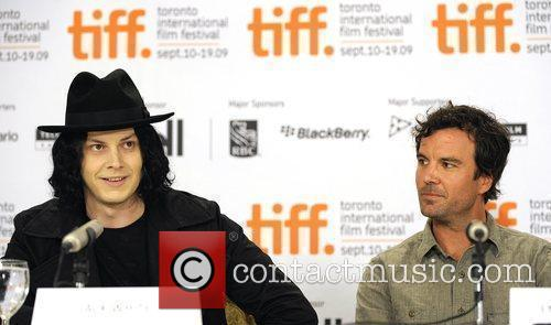 Jack White (L) and Director Emmett Malloy...