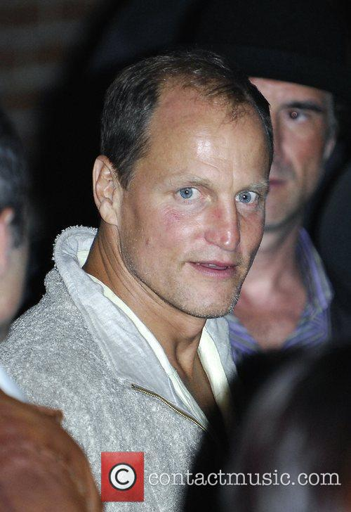 Woody Harrelson at a party in Yorkville during...