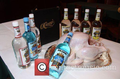 O'Caseys Restaurant is making an 100 proof Turkey...