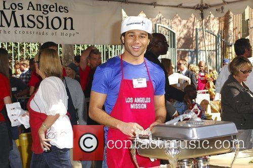 Corbin Bleu '5th Annual Thanksgiving Meal for the...